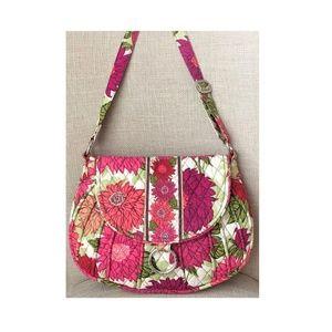 Vera Bradley Hello Dahlia Crossbody Bag Purse
